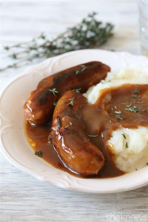 bangers and mash recipe dishmaps