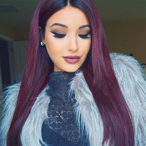 burgundy hair on a latina 30 burgundy hair ideas for blonde red and brunette hair