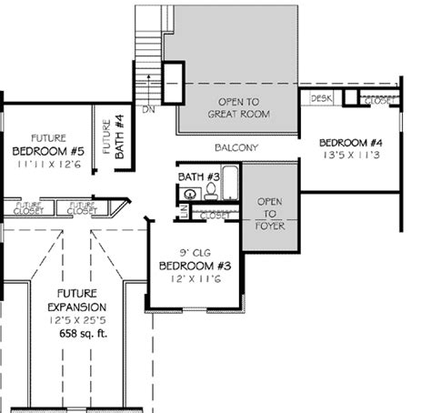 house plans with future expansion future expansion space 30712gd 1st floor master suite