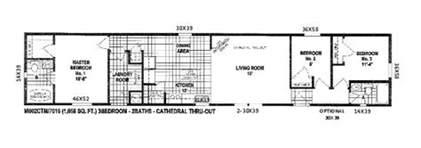 Floor Plans For Mobile Homes Single Wide scotbilt mobile home floor plans singelwide floor plans