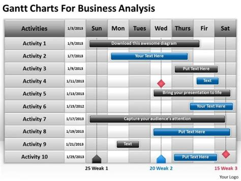 Free Gantt Cliparts Download Free Clip Art Free Clip Art On Clipart Library Gantt Chart Powerpoint Template Free