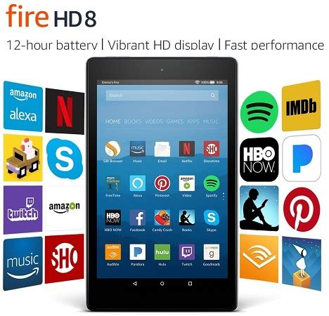 amazon fire hd 8 with alexa 8 hd display tablet target