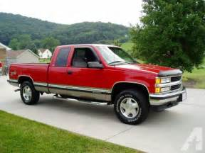 Chevrolet Chevy 4x4 Sale 1998 Chevrolet Silverado 4x4 For Sale In Birmingham