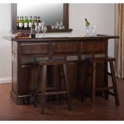 Santa Fe Home Designs santa fe bar set with wine storage wayfair