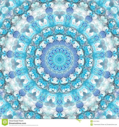 blue kaleidoscope wallpaper abstract blue background stock illustration image of