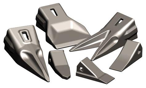 Spare Part Alat Berat Loader Solenoid Engine Stop kuku tooth