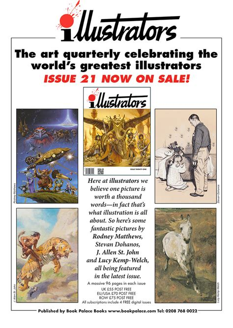 startists the talk magazine winter edition books illustrators annual subscription from the book palace