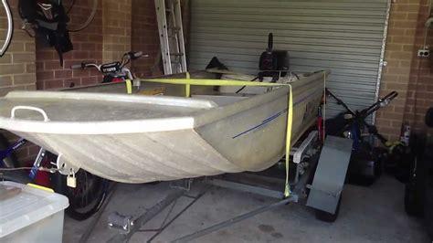 princecraft jon boat 10ft evinrude 9 9 hp 12 ft tinny boat new setup youtube
