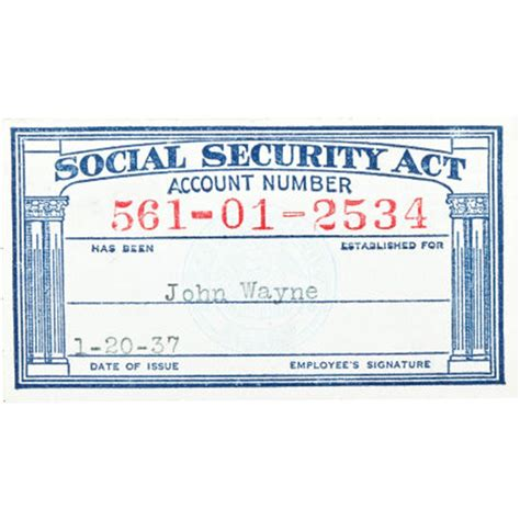 fillable social security card template
