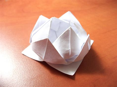 Lilly Origami - origami water by komplexgyok on deviantart