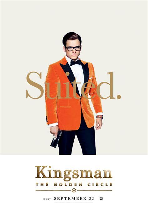 kingsman the golden circle kingsman the golden circle gets character posterizations