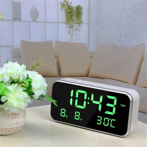 led alarm clock multifunction digital electronic led