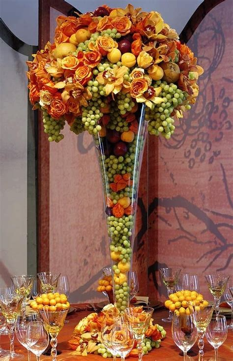 beautiful arrangement table fall table fall beautiful centerpieces pinterest