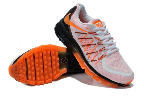 Nike Air Max 2015 Whiteblackorange P 1117 by Cheap Air Max 2015 Orange White Black Cheap Lebron