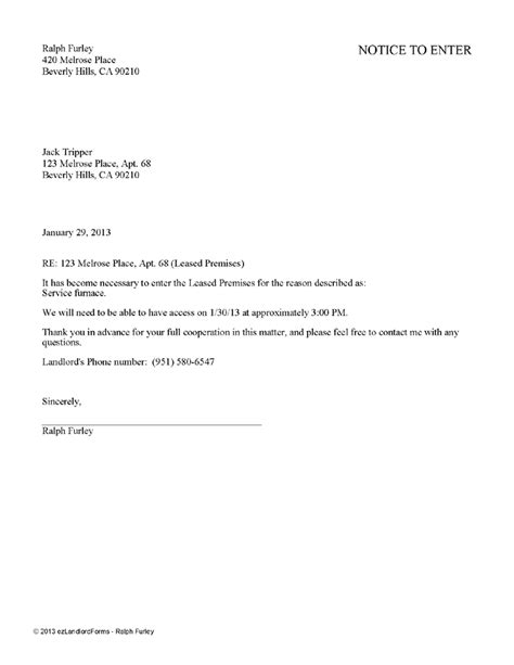 Rent Bill Letter doc 1380782 rental receipts for tenants ontario