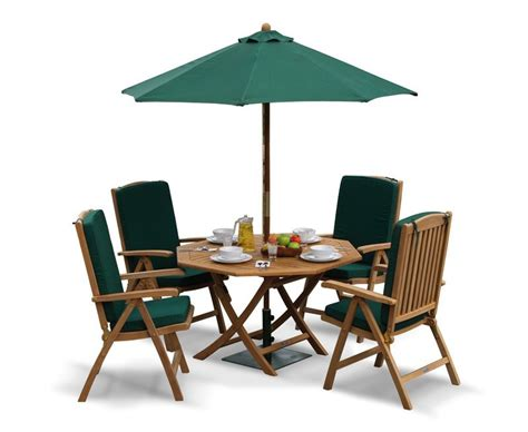 Folding Dining Table And Chair Set Garden Folding Dining Table And Reclining Chairs Set Patio Outdoor Octagonal Dining Set