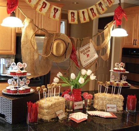 cowboy birthday theme love  cowboycowgirl birthday