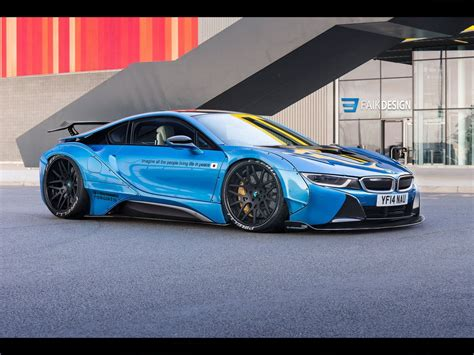 modified bmw i8 bmw i8 libertywalk by faik05 more digital custom here