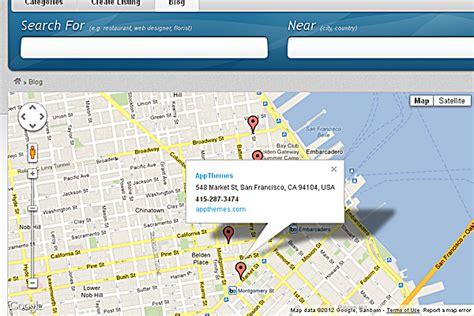 avada theme google map shortcode mapsupreme vantage google map plugin appthemes marketplace