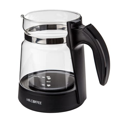Mr. Coffee 147643 000 000 Cafe Latte Pitcher (BVMC EL1)   eBay