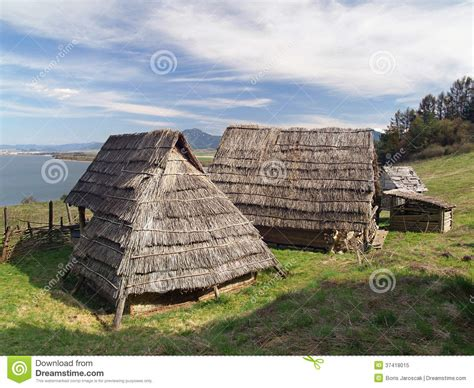 Accessible House Plans celtic houses havranok skansen slovakia royalty free