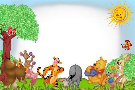 imagenes de winnie pooh con flores la p 225 gina de inesita muchos marcos de winnie pooh