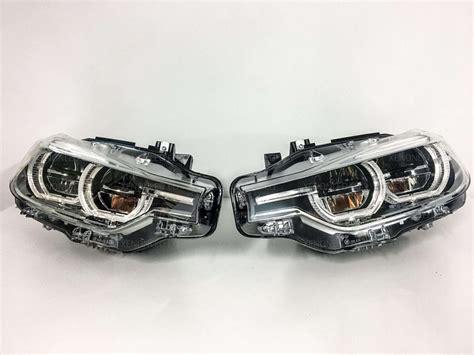 bmw headlights bmw 3 series f30 f31 lci 2015 adaptive full led headlights