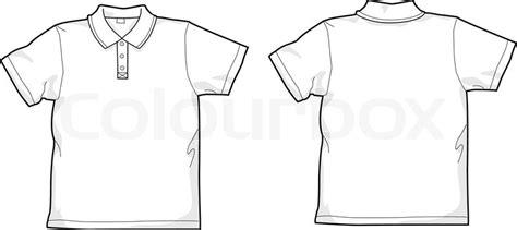 Baju Icon White white polo shirt stock vector colourbox