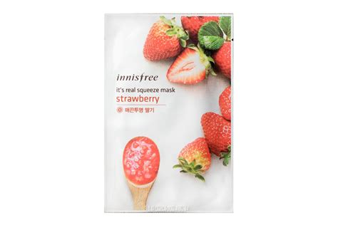 Innisfree I Ts Real Squeeze Mask buy innisfree it s real squeeze mask strawberry