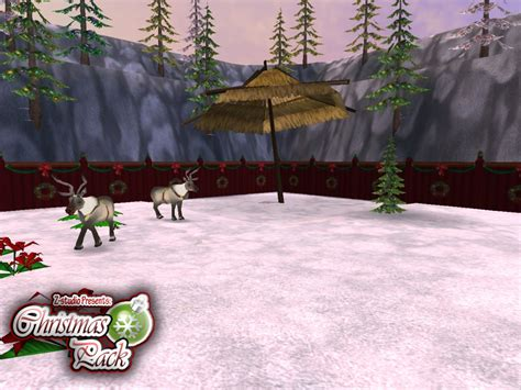 the christmas pack at zoo tycoon 2 nexus mods and community