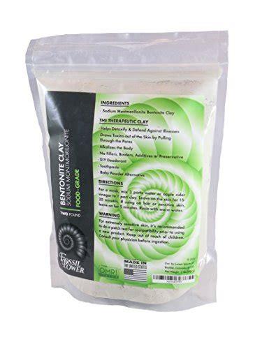 Bentonite Clay Detox Capsules by Bentonite Clay 2 Lb Food Grade All Powerful