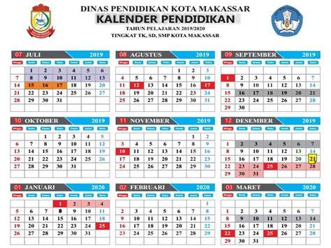 kalender pendidikan kota makassar  ajaran   haloprofesi