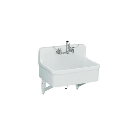kohler k 12787 0 white gilford scrub up plaster sink with two faucet drilling 30 quot x 22