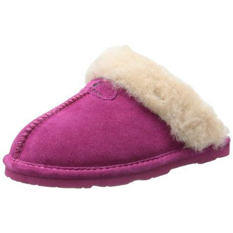 best sheepskin slippers bearpaw s loki low top sheepskin slipper ebay