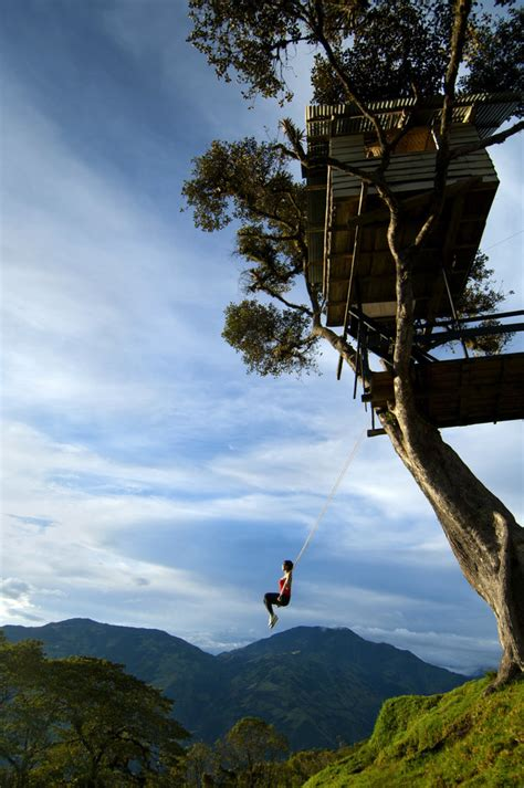 swing in ecuador the swing at the end of the world is a wanderluster s