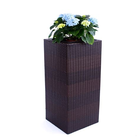 blumenkübel terrasse blumenk 252 bel 252 bertopf polyrattan bestseller shop