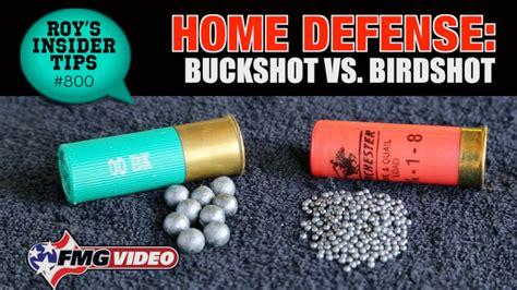home defense buckshot vs birdshot