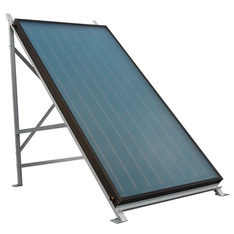 solar light collector types of solar water panel the renewable energy hub