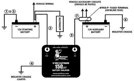 noco battery isolator wiring diagram get free image