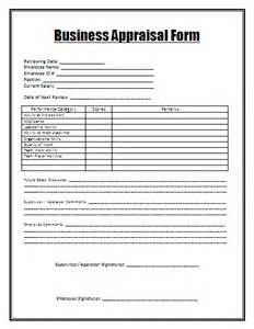 business forms appraisal report guidelines for annual performance appraisal report