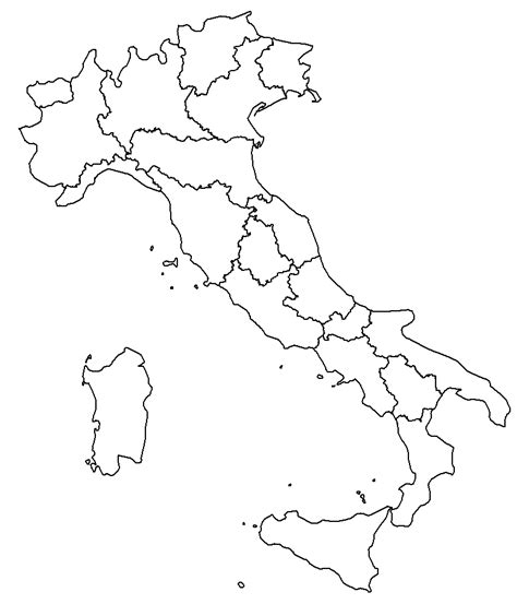 italy map outline printable file italy template blank png
