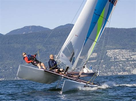 catamaran for sale bc canada our fleet viking sailing club sailing and learning at