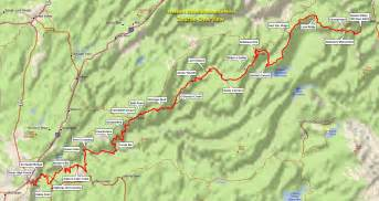 Western States Trail Map by Western States 100 Trail Description Conduct The Juices