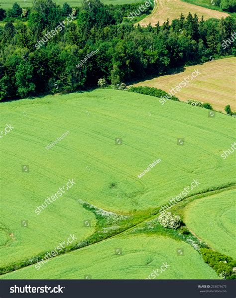 pattern of agriculture and types of forest in bangladesh aerial view agriculture fields forest stock photo