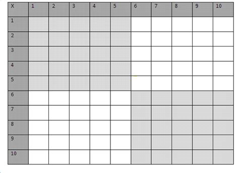 empty grid blank number grid white gold