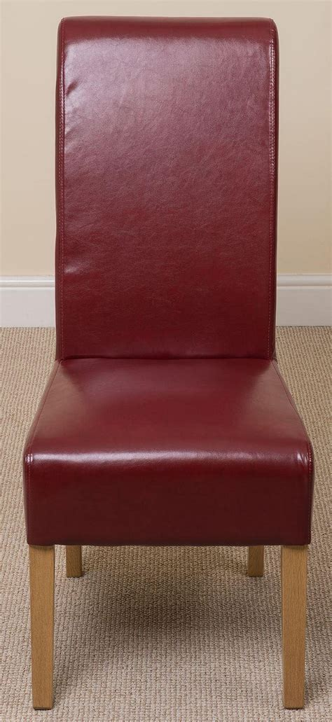 burgundy leather dining chairs montana dining chair burgundy leather dining room chairs