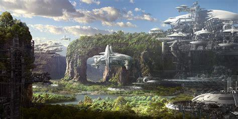 Building Designer Online the epic sci fi creations of allen wei concept artist