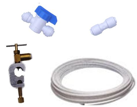 Plumbing Pipe Connectors by American Fridge Water Filter Plumbing Fitting Connection Kit Pipe Tap Connector Ebay
