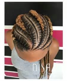 feeder braids pictures feed in cornrows