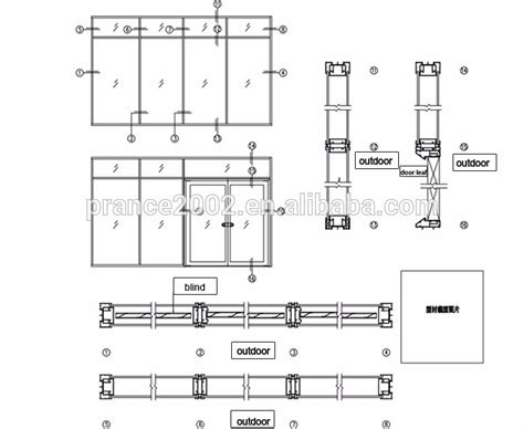 glass wall floor plan single double triple glass partition office partition